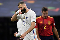 Karim Benzema of France during the Uefa Nations League final football match between Spain and France at San Siro stadium in Milano (Italy), October 10th, 2021. Photo Andrea Staccioli / Insidefoto