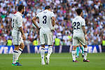 Real Madrid's Kleper Lima Ferreira Pepe durign the match of La Liga between Real Madrid and SD Eibar at Santiago Bernabeu Stadium in Madrid. October 02, 2016. (ALTERPHOTOS/Rodrigo Jimenez)