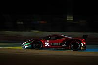 #388 Rinaldi Racing Ferrari 488 GTE EVO LMGTE Am, Pierre Ehret, Christian Hook, Jeroen Bleekemolen, 24 Hours of Le Mans , Free Practice 2, Circuit des 24 Heures, Le Mans, Pays da Loire, France