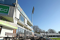 General view of the ground prior to Essex CCC vs Kent CCC, Friendly Match Cricket at The Cloudfm County Ground on 30th March 2021