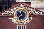 N.A., USA, Massachussetts, Boston, Old State House Clock
