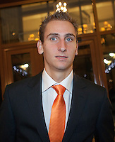 02-03-11, Tennis, Oekraine, Charkov, Daviscup, Oekraine - Netherlands, Official Dinner, Thiemo de Bakker