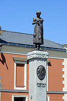 Theater und Denkmal Simon Dach in Klaipeda, Litauen, Europa