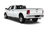Car pictures of rear three quarter view of a 2018 Ram Ram 2500 Pickup Tradesman 4wd Crew Cab LWB 4 Door Pick Up angular rear