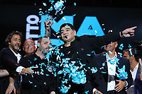 Diego Armando Maradona <br /> Napoli 05-07-2017  Napoli Piazza del Plebiscito<br /> Evento per il conferimento della cittadinanza onoraria a Diego Armando Maradona da parte del Comune di Napoli.<br /> Honorary Citizenship to Diego Armando Maradona<br /> By the City of Naples.<br /> Foto Cesare Purini / Insidefoto