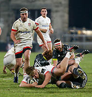 2nd January 2021   Ulster vs Munster <br /> <br /> Callum Reid during the PRO14 Round 10 clash between Ulster Rugby and Munster Rugby at the Kingspan Stadium, Ravenhill Park, Belfast, Northern Ireland. Photo by John Dickson/Dicksondigital