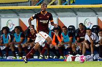 Calcio, Serie A: Frosinone vs Roma. Frosinone, stadio Comunale, 12 settembre 2015.<br /> Roma's Seydou Keita in action during the Italian Serie A football match between Frosinone and Roma at Frosinone Comunale stadium, 12 September 2015.<br /> UPDATE IMAGES PRESS/Riccardo De Luca