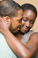 African American couple together