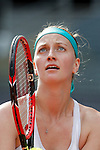 Petra Kvitova from Czech Republic during her Madrid Open tennis final match against Svetlana Kuznetsova from Russia in Madrid, Spain. May 09, 2015. (ALTERPHOTOS/Victor Blanco)
