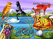 Alfredo, CUTE ANIMALS, puzzle, paintings(BRTO50974,#AC#) illustrations, pinturas, rompe cabeza