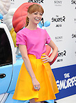 Jayma Mays at The Columbia Pictures and Sony Pictures Animation L.A. Premiere of The Smurfs 2 held at The Regency Village Theatre in Westwood, California on July 28,2013                                                                   Copyright 2013 Hollywood Press Agency