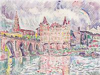 The Look at Montauban in rain, 1922<br /> Paul Signac (1863-1935)
