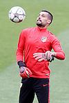 Atletico de Madrid's Miguel Angel Moya during training session. April 4,2016.(ALTERPHOTOS/Acero)