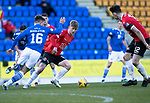St Johnstone v Clyde…17.04.21   McDiarmid Park   Scottish Cup<br />Josh Jack and Glenn Middleton<br />Picture by Graeme Hart.<br />Copyright Perthshire Picture Agency<br />Tel: 01738 623350  Mobile: 07990 594431