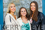 Leaving Cert Listowel: Celebrating the leaving cert results in Listowel on Monday evening last were Eve Kenny, Fiona Kelly & Sally O'Flynn.