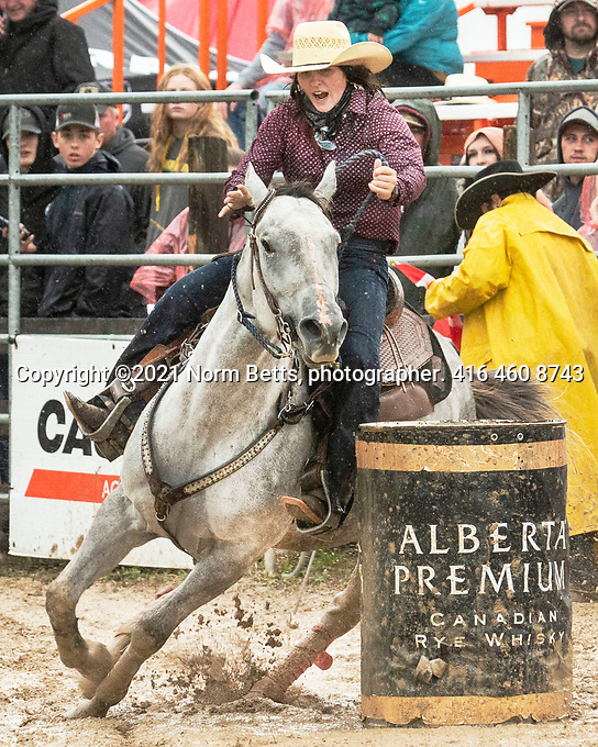 The RAM Rodeo made stop in Feversham, Ont., 25 and 26 September, 2021.