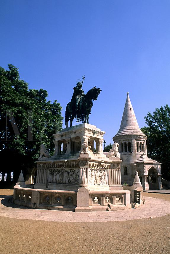 Budapest Hungary Fisher Bastion.