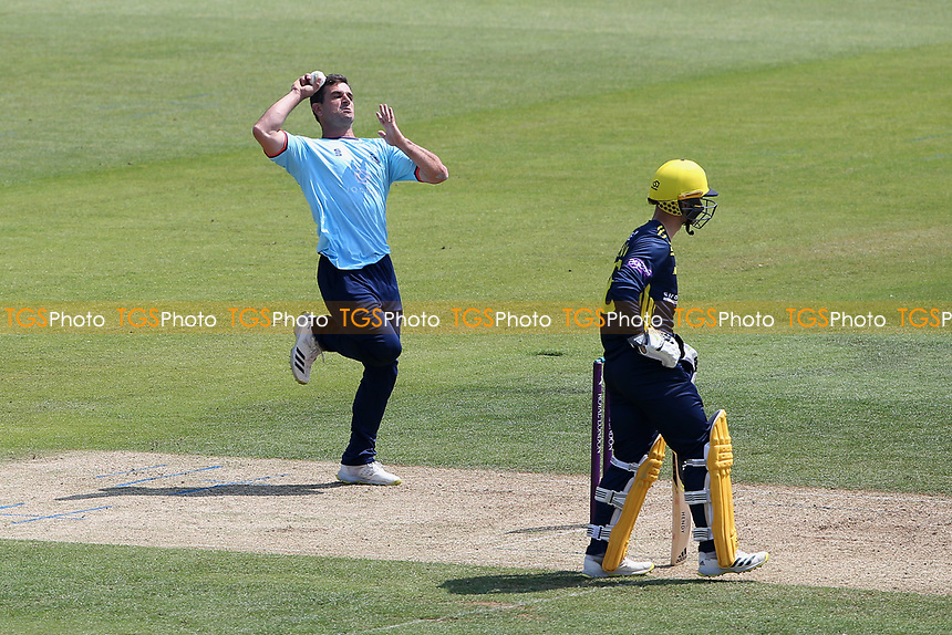 Ryan ten Doeschate in bowling action for Essex during Hampshire Hawks vs Essex Eagles, Royal London One-Day Cup Cricket at The Ageas Bowl on 22nd July 2021