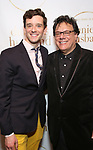 """Michael Urie and Joe Brancato during the Opening Night Celebration for """"Daniel's Husband"""" at the West Bank on October 28, 2018 in New York City."""