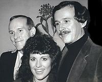 Tommy Smothers Dick Smothers Lucy Arnaz 1980s<br /> Photo By John Barrett/PHOTOlink