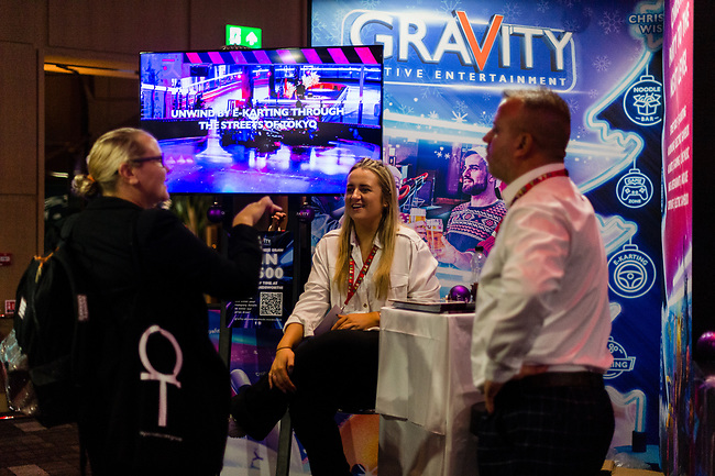 Award-winning exhibition featuring the industry's best event venues & suppliers. <br /> This is the place to be for the best Christmas Party venues and ideas, in London, Wednesday, 8th of September 2021. Photo: AMMP/Maciek Musialek