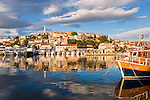 Croatia, Istria, Vrsar: tourist resort at the entrace to Lim Canal   Kroatien, Istrien, Vrsar: Urlaubsort am Eingang des Limski-Kanals