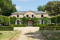 BNPS.co.uk (01202 558833)<br /> Pic: Strutt&Parker/Savills/BNPS<br /> <br /> RESUBMISSION: Please credit Strutt & Parker/Savills/BNPS.<br /> <br /> Pictured: The house and the gardens.<br /> <br /> An impressive country estate that has hosted royalty and wartime evacuees has gone on the market for £8.65m.<br /> <br /> The Wilverley Estate was once home to the Honourable George Rose, who was paymaster general and known to have entertained King George III there.<br /> <br /> The 234-acre estate is on the edge of the New Forest, near Lyndhurst, Hants, and is up for sale for the first time in 74 years.