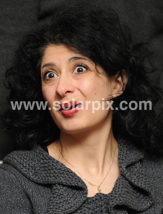 **ALL ROUND PICTURES FROM SOLARPIX.COM**.**WORLDWIDE SYNDICATION RIGHTS**.Channel 4 announces Comedy Gala at the O2 in aid of Great Ormond St Hospital, London, UK. 11 February 2010.This pic: Shappi Khorsandi ..JOB REF: 10665 SSD     DATE: 11_02_2010.**MUST CREDIT SOLARPIX.COM OR DOUBLE FEE WILL BE CHARGED**.**MUST NOTIFY SOLARPIX OF ONLINE USAGE**.**CALL US ON: +34 952 811 768 or LOW RATE FROM UK 0844 617 7637**