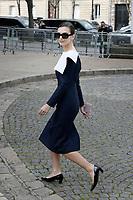 Emily RATAJKOWSKI - Show Miu Miu - Paris Fashion Week Womenswear Fall/Winter 2017/2018 - France