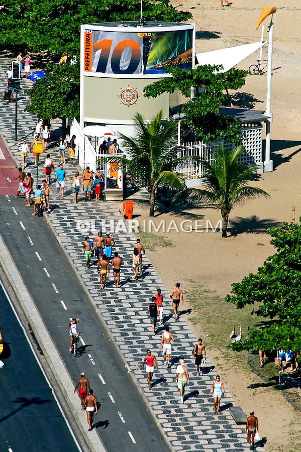 Calçadão de Ipanema. Rio de Janeiro. 2005. Foto de Ricardo Azoury.