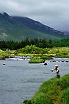 IRELAND ATLANTIC SALMON BALLYNAHINCH CASTLE OWENMORE RIVER