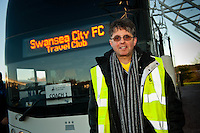Saturday 11 January 2014<br /> Pictured: Ugo Vallero <br /> Re: Swansea City Travel Club