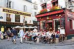 Europa, Frankreich, France, Paris, Montmartre, Restaurant Le Consulat, 07.09.2014