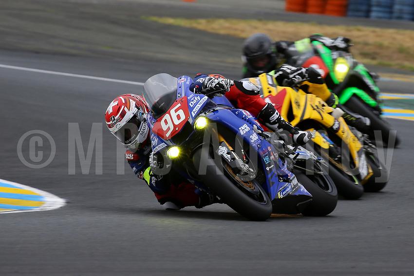 #96 MOTO AIN (FRA) R YAMAHA YZF - R1 SUPERSTOCK ROLFO ROBERTO (ITA) MULHAUSER ROBIN (SUI) CLERE HUGO (FRA)