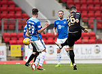 St Johnstone v Livingston….04.05.19      McDiarmid Park        SPFL<br />Craig Halkett scores his goal<br />Picture by Graeme Hart. <br />Copyright Perthshire Picture Agency<br />Tel: 01738 623350  Mobile: 07990 594431