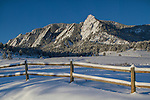 Fresh snow at Chautauqua Park, Boulder, Colorado, .  John leads private photo tours in Boulder and throughout Colorado. Year-round Boulder photo tours.