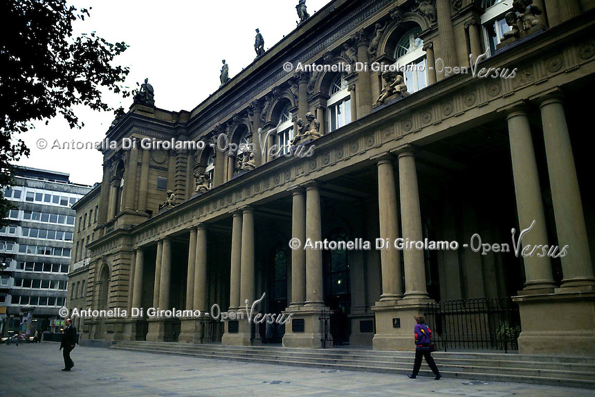 Borsa di Francoforte.Frankfurt Stock Exchange...