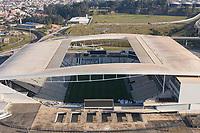 SÃO PAULO (SP) - 05/09/2020 - CORINTHIANS-BOTAFOGO - Imagem aerea da Neo Química Arena, na partida entre Corinthians e Botafogo, válida pela 8ª rodada do Campeonato Brasileiro 2020, realizada na Neo Química Arena, na cidade de São Paulo, neste sabado (05).