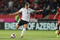Toni Kroos #8 (Germany), Tschechische Republik vs. Germany, Football, WM-Qualifikation, 01.09.2017 *** Local Caption *** © pixathlon<br /> Contact: +49-40-22 63 02 60 , info@pixathlon.de