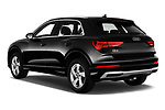 Car pictures of rear three quarter view of 2019 Audi Q3 Premium-Plus 5 Door SUV Angular Rear