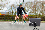 Fergal O'Sullivan launching his Easter basketball camp, which will be on Zoom from April 6th to April 8th