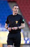 St Johnstone v Rangers…21.04.21   McDiarmid Park   SPFL<br />Referee Euan Anderson<br />Picture by Graeme Hart.<br />Copyright Perthshire Picture Agency<br />Tel: 01738 623350  Mobile: 07990 594431