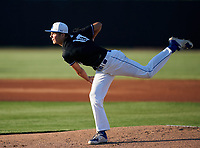 IMG Academy Ascenders pitcher Jackson Ferris (10) during a game against the Jesuit Tigers on April 21, 2021 at IMG Academy in Bradenton, Florida.  (Mike Janes/Four Seam Images)