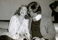 New York, NY<br /> Phyllis George Robert Evans at Studio 54<br /> Photo by Adam Scull-PHOTOlink.net