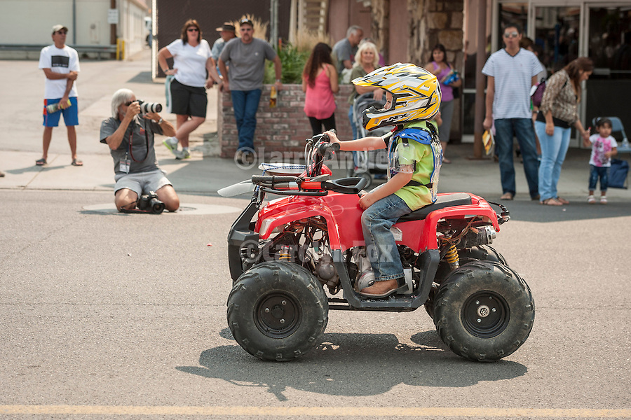 Winnemucca's annual Labor Day Parade on 4th Street