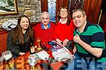 Edel Champion, Leo, Eta and Dermot McDonnagh enjoying the Cheltenham Races in the Castle Bar on Thursday.