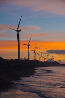The project is the first ?Wind Farm? in the Philippines consisting of wind turbines on-shore facing the South China Sea and considered to be the biggest in Southeast Asia.