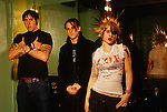 Various portrait sessions of the rock band, The Distillers