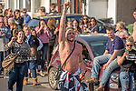 Prodigy fans turn out for the  funeral of Prodigy singer Keith Flint at St Marys Church in Bocking,  Essex today.