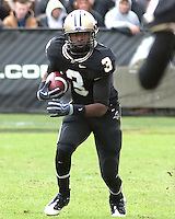 Purdue wide receiver Waynelle Gravesande. The Purdue Boilermakers defeated the Ohio State Buckeyes 26-18 at Ross-Ade Stadium, West Lafayette, Indiana on October 17, 2009..
